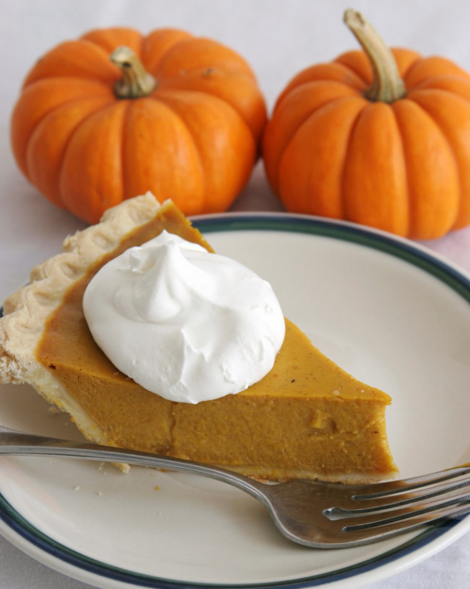 Luella's Honey Pumpkin Pie